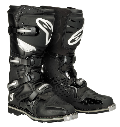 Stivali moto off-road Alpinestars Tech 3 All Terrain neri