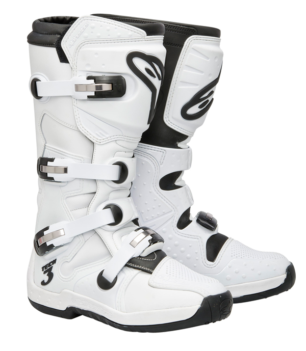Stivali Off-road Alpinestars Tech 3 super bianco