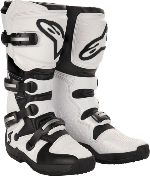 Alpinestars Tech 3 off-road boots white