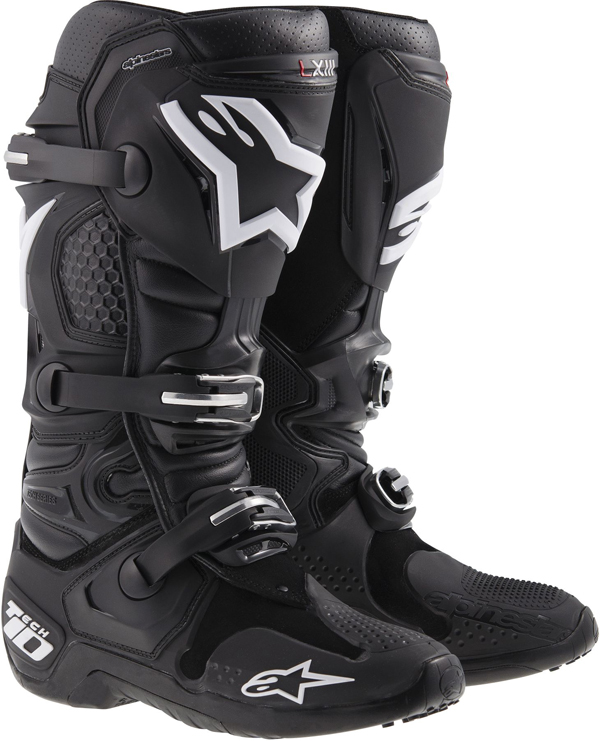 Stivali moto off-road Alpinestars Tech-10 2014 neri