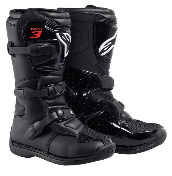 Alpinestars Tech 3S Youth motocross boots black