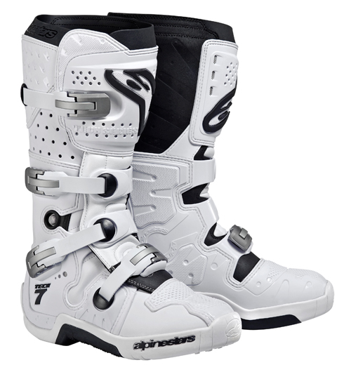 Alpinestars Tech 7 off-road boots white