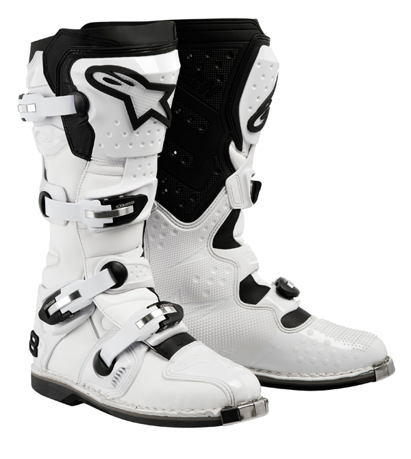 Alpinestars Tech 8 Light off-road boots white