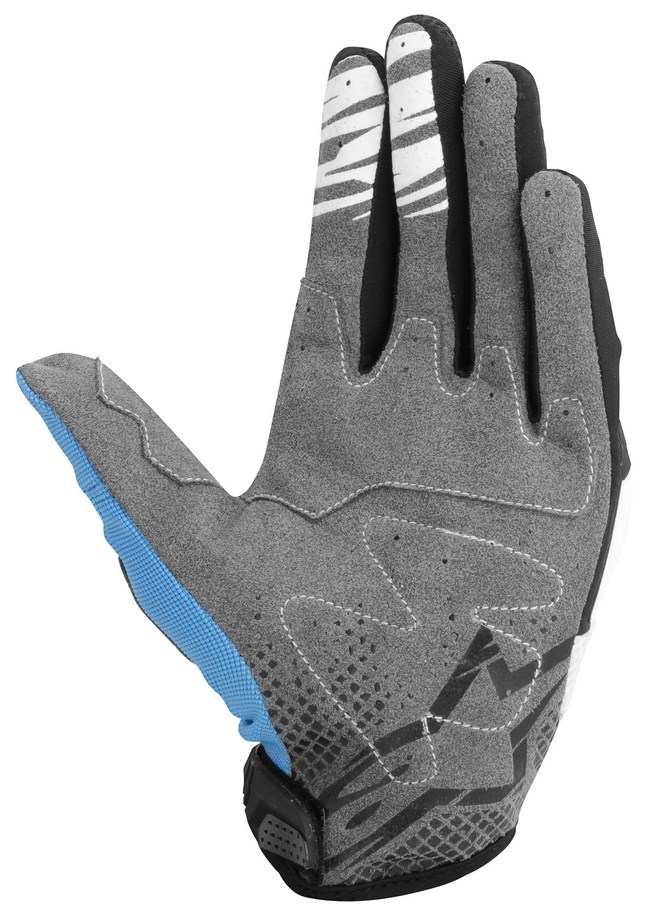 Alpinestars Techstar off-road gloves cyan black