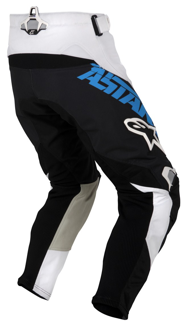 Pantaloni cross Alpinestars Techstar azzuro nero