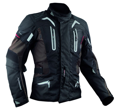 A-Pro Tesla motorycle jacket brown