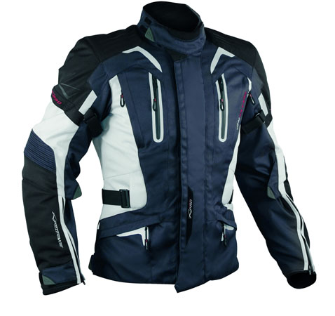 A-Pro Tesla motorycle jacket dark blue