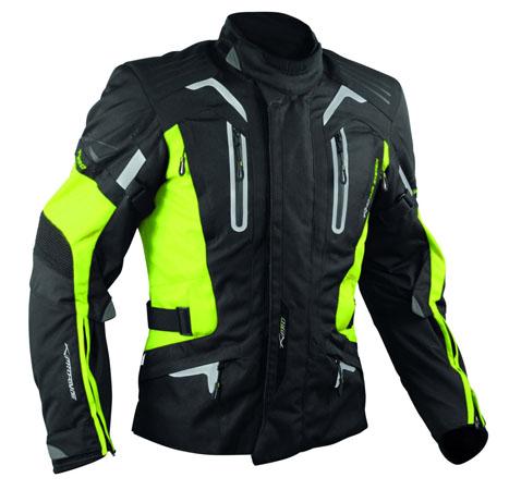 A-Pro Tesla motorycle jacket fluo