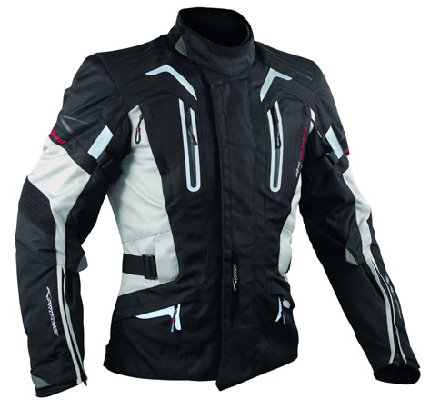 A-Pro Tesla motorycle jacket grey