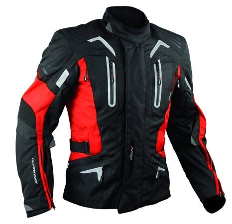 A-Pro Tesla motorycle jacket red