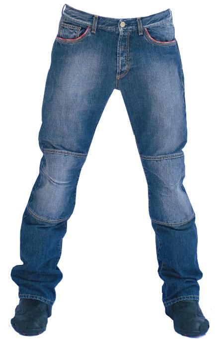 Jeans moto Texas con Kevlar colore medio