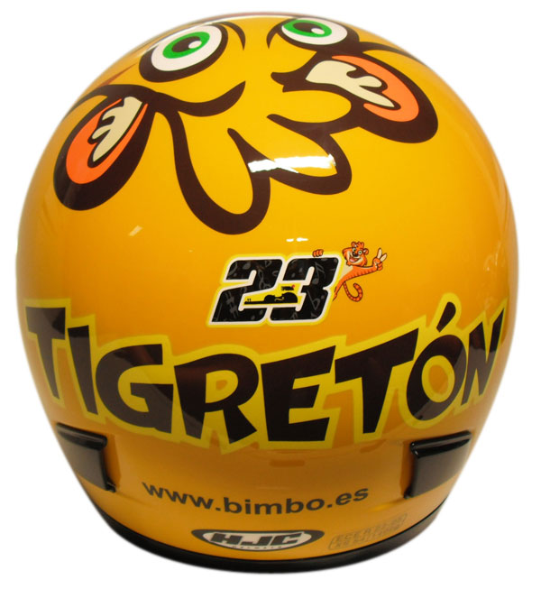 Casco integrale HJC CS12 Tigreton replica Alberto Moncayo