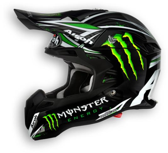 Casco moto cross Airoh Terminator Monster
