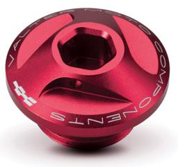 Oil Cap for Extreme Valtermoto Triumph Rosso