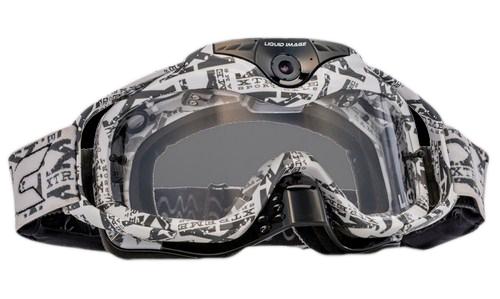 Occhiali offroad Liquid Image videocamera Torque Full HD bianco