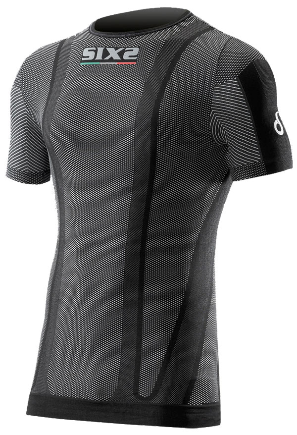 Base layer short sleeve Sixs Osmosixs Carbon