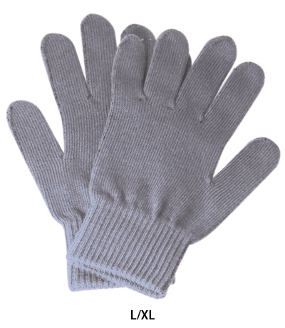 Cellular Line Touch Screen gloves for Smartphone grey size L-XL
