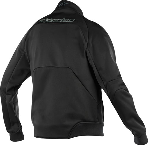 Sottogiacca antivento Alpinestars Touring Mid Layer nera