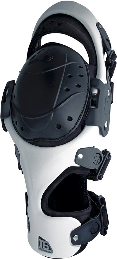Tryonic T6 Knee Brace right - white-black