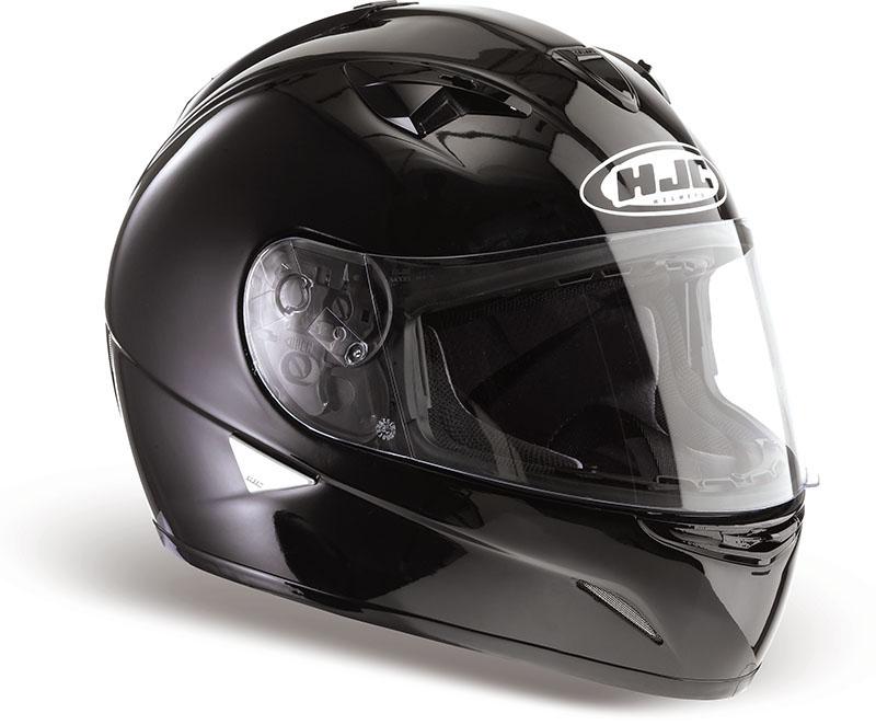 Black HJC Full Face Helmet TR1