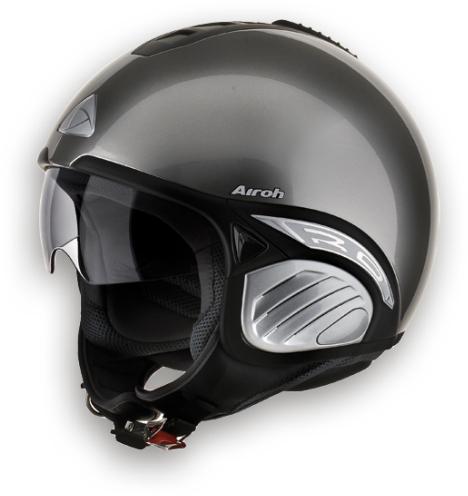 Airoh Troy Color het helmet chrome