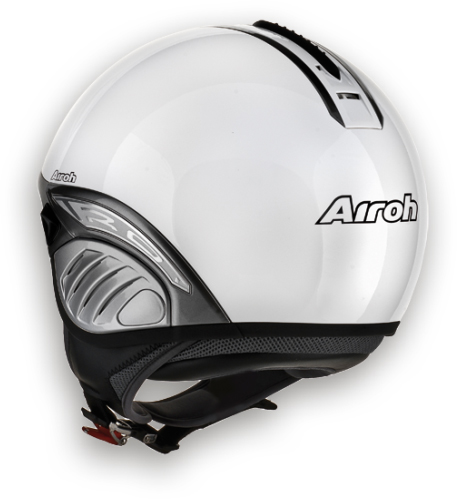 Airoh Troy Color het helmet white