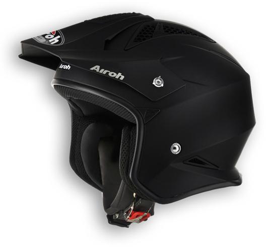 Off road motorcycle helmet Airoh TRR Color Matte Black
