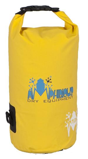 Waterproof bag saddle Amphibious Tube 40 Yellow
