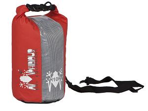 Waterproof bag saddle Amphibious Red Window 20