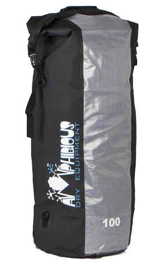 Waterproof bag saddle 40 Amphibious Window Yellow