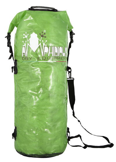 Waterproof bag saddle Amphibious Transparent Blue 3