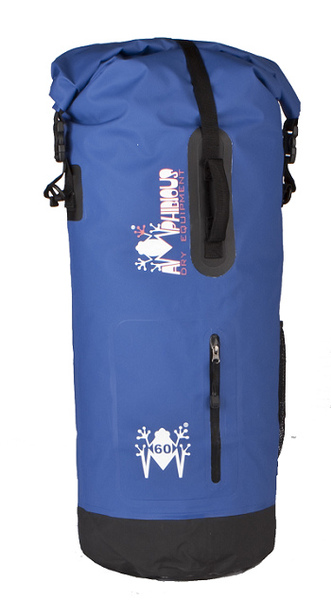 Borsa impermeabile da sella Amphibious Mako 30 Blu