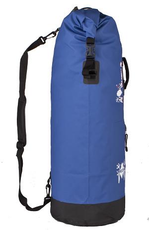 Waterproof bag saddle Amphibious Mako Blue 45