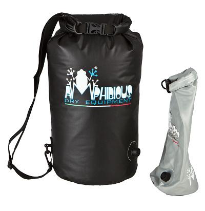 Waterproof bag saddle Amphibious Tube Light Ages 5 Black