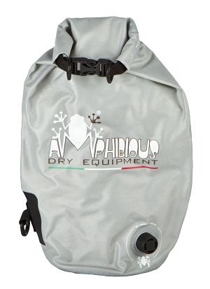 Waterproof bag saddle Amphibious Tube Light Ages 20 Black