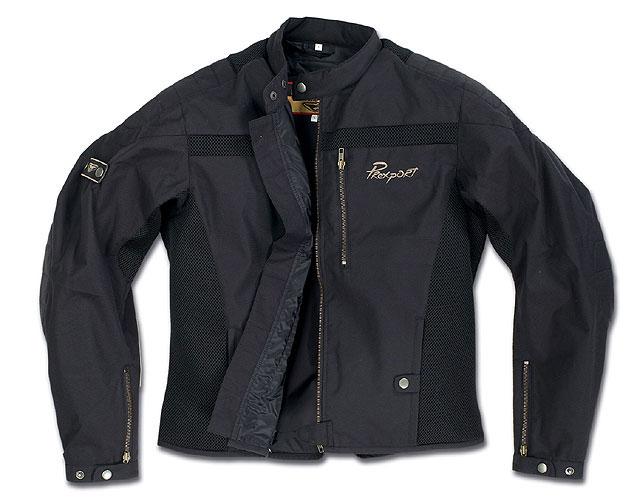 Prexport Tube summer man jacket Black