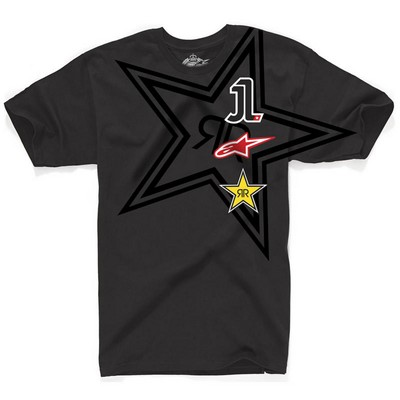 T-shirt Alpinestars El Uno Tee Limited Edition Jorge Lorenzo