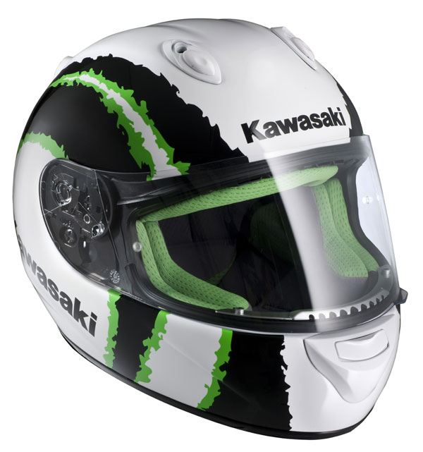 Casco integrale HJC Kawasaki Kninja Urban MC4