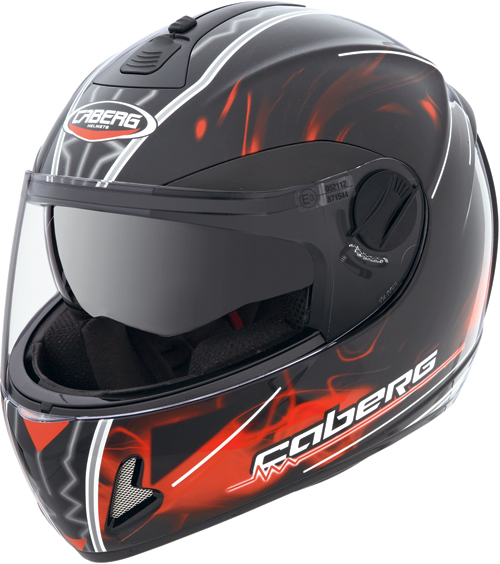 Caberg V2 407 Fluid  full-face helmet black-red
