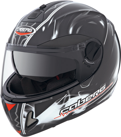 Caberg V2 407 Fluid  full-face helmet black-white