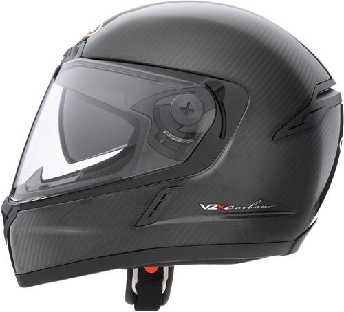 CABERG V2X Carbon full-face helmet bright carbon