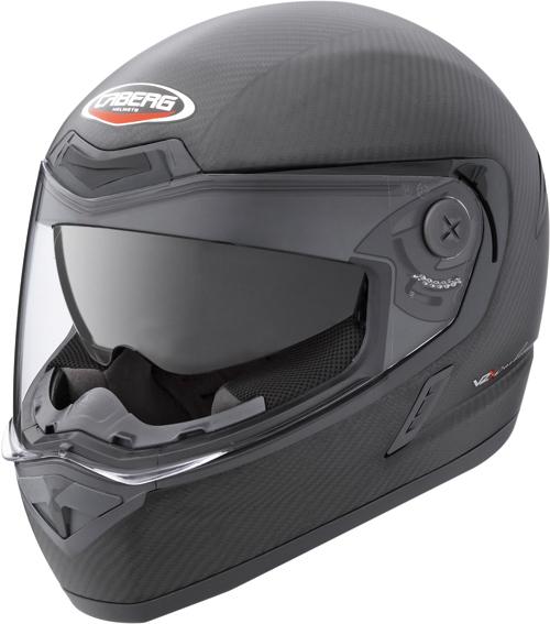 Casco moto Caberg V2X Carbon carbon opaco