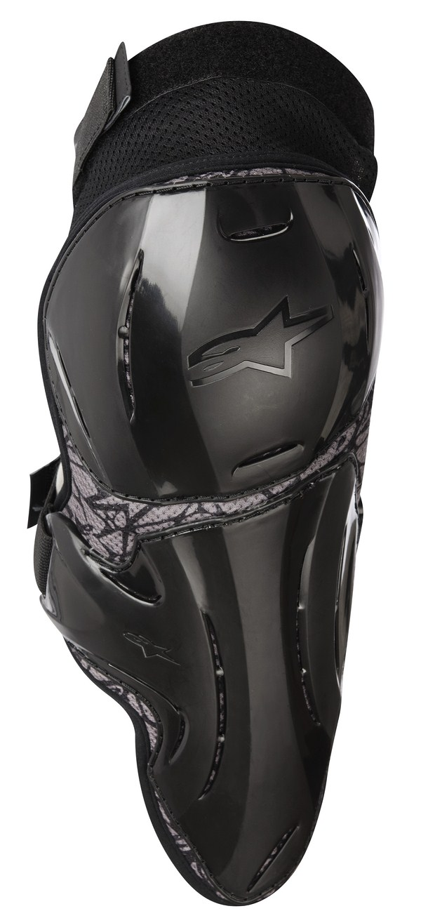 Alpinestars Vapor Youth  knee protection black gray graphic