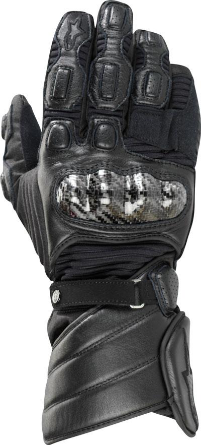Alpinestars Vega Drystar leather gloves black
