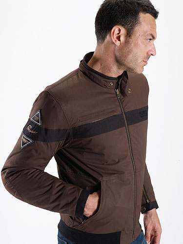 Prexport Vega waterproof jacket Tobacco