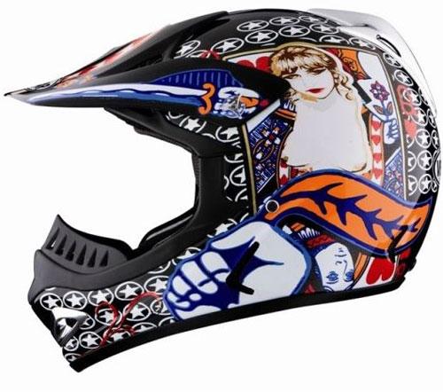 Vemar VRX5 Play Back fiber off road helmet