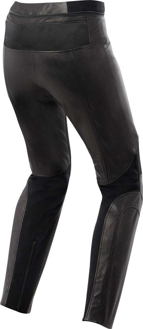 Pantaloni pelle donna Alpinestars Stella Vika Waterproof neri