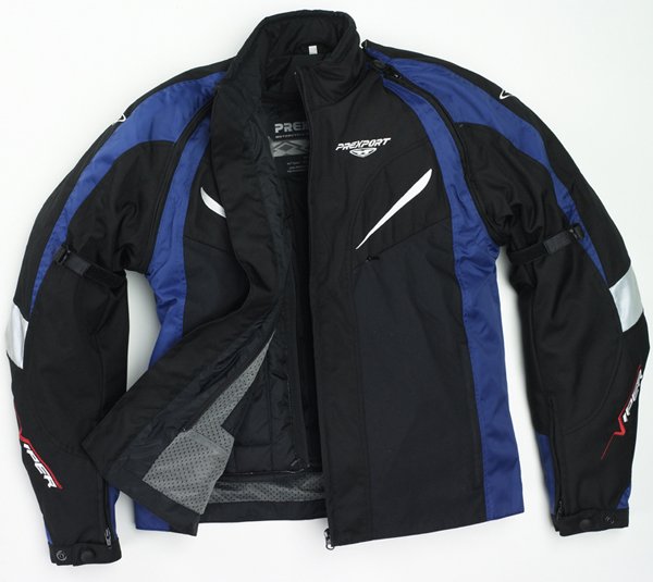 Prexport Viper waterproof jacket Black Blue