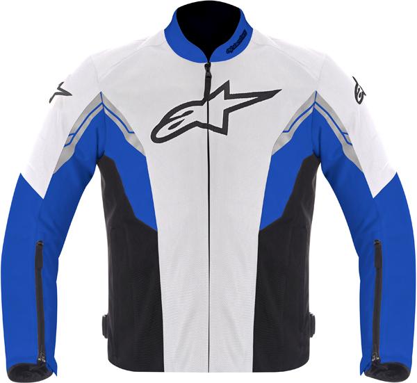 Giacca moto Alpinestars VIPER AIR bianco-blu-nero