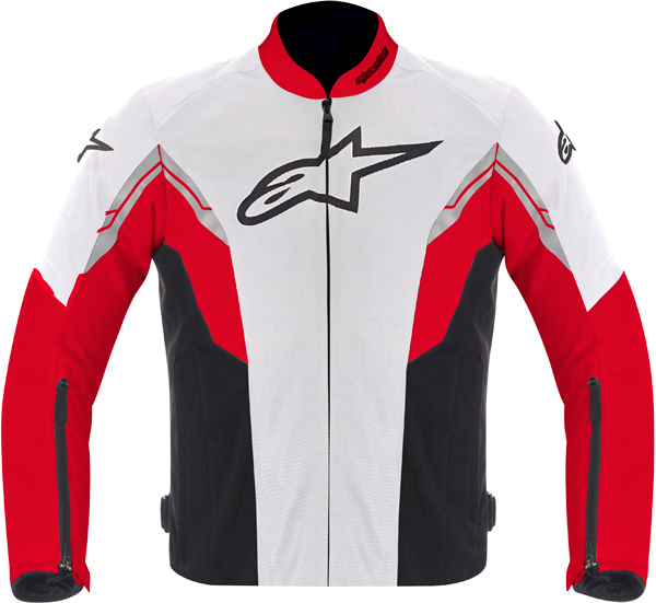 Alpinestars VIPER AIR textile jacket white-red-black